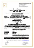View FPC Certificate